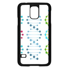 Genetic Dna Blood Flow Cells Samsung Galaxy S5 Case (black) by Mariart