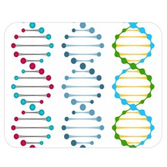 Genetic Dna Blood Flow Cells Double Sided Flano Blanket (medium)  by Mariart
