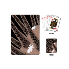 Head Lice Killer Hair Playing Cards (mini)  by Mariart
