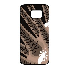 Head Lice Killer Hair Samsung Galaxy S7 Edge Black Seamless Case by Mariart