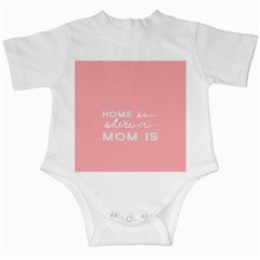 Home Love Mom Sexy Pink Infant Creepers by Mariart