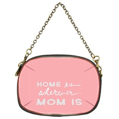 Home Love Mom Sexy Pink Chain Purses (one Side)  by Mariart