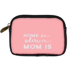 Home Love Mom Sexy Pink Digital Camera Cases by Mariart