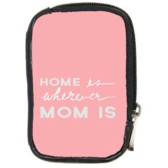 Home Love Mom Sexy Pink Compact Camera Cases by Mariart