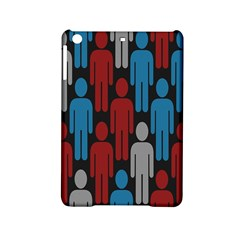 Human Man People Red Blue Grey Black Ipad Mini 2 Hardshell Cases