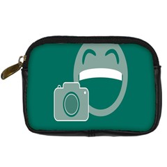 Laughs Funny Photo Contest Smile Face Mask Digital Camera Cases by Mariart
