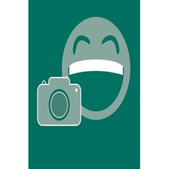 Laughs Funny Photo Contest Smile Face Mask 5 5  X 8 5  Notebooks by Mariart