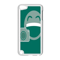 Laughs Funny Photo Contest Smile Face Mask Apple Ipod Touch 5 Case (white) by Mariart
