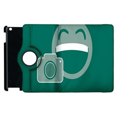 Laughs Funny Photo Contest Smile Face Mask Apple Ipad 2 Flip 360 Case