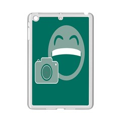 Laughs Funny Photo Contest Smile Face Mask Ipad Mini 2 Enamel Coated Cases by Mariart