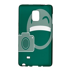 Laughs Funny Photo Contest Smile Face Mask Galaxy Note Edge by Mariart