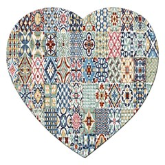 Deco Heritage Mix Jigsaw Puzzle (heart)