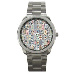 Deco Heritage Mix Sport Metal Watch by Mariart