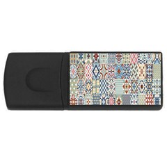Deco Heritage Mix Usb Flash Drive Rectangular (4 Gb) by Mariart