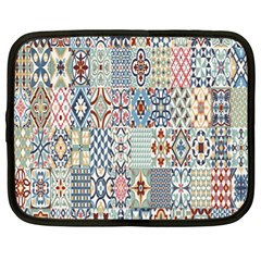 Deco Heritage Mix Netbook Case (xl)  by Mariart