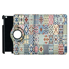 Deco Heritage Mix Apple Ipad 3/4 Flip 360 Case