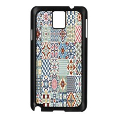 Deco Heritage Mix Samsung Galaxy Note 3 N9005 Case (black) by Mariart