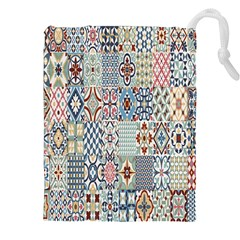Deco Heritage Mix Drawstring Pouches (xxl) by Mariart