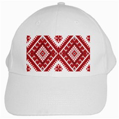 Fabric Aztec White Cap by Mariart