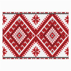 Fabric Aztec Large Glasses Cloth (2-side) by Mariart