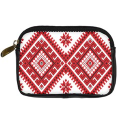 Fabric Aztec Digital Camera Cases by Mariart