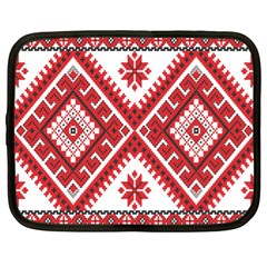 Fabric Aztec Netbook Case (xl)  by Mariart