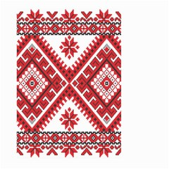 Fabric Aztec Large Garden Flag (two Sides) by Mariart