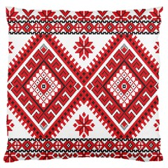 Fabric Aztec Large Flano Cushion Case (one Side) by Mariart