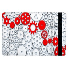 Iron Chain White Red Ipad Air Flip by Mariart