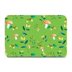 Mushrooms Flower Leaf Tulip Plate Mats by Mariart