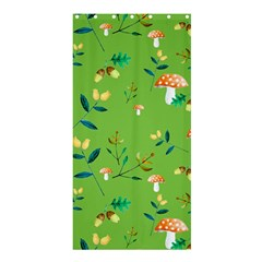 Mushrooms Flower Leaf Tulip Shower Curtain 36  X 72  (stall)  by Mariart