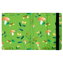 Mushrooms Flower Leaf Tulip Apple Ipad 3/4 Flip Case