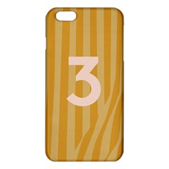 Number 3 Line Vertical Yellow Pink Orange Wave Chevron Iphone 6 Plus/6s Plus Tpu Case by Mariart