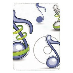 Notes Musical Elements Flap Covers (s)  by Mariart
