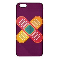 Plaster Scratch Sore Polka Line Purple Yellow Iphone 6 Plus/6s Plus Tpu Case by Mariart