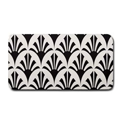 Parade Art Deco Style Neutral Vinyl Medium Bar Mats by Mariart