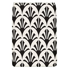 Parade Art Deco Style Neutral Vinyl Flap Covers (l)  by Mariart