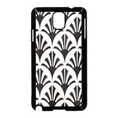 Parade Art Deco Style Neutral Vinyl Samsung Galaxy Note 3 Neo Hardshell Case (black) by Mariart