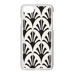 Parade Art Deco Style Neutral Vinyl Apple Iphone 7 Seamless Case (white) by Mariart