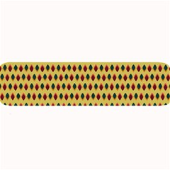 Points Cells Paint Texture Plaid Triangle Polka Large Bar Mats by Mariart