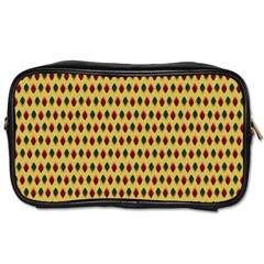 Points Cells Paint Texture Plaid Triangle Polka Toiletries Bags by Mariart