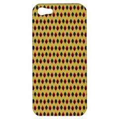 Points Cells Paint Texture Plaid Triangle Polka Apple Iphone 5 Hardshell Case by Mariart