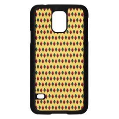 Points Cells Paint Texture Plaid Triangle Polka Samsung Galaxy S5 Case (black) by Mariart