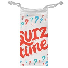 Question Mark Quiz Time Jewelry Bag by Mariart