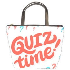 Question Mark Quiz Time Bucket Bags