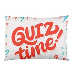 Question Mark Quiz Time Pillow Case (two Sides) by Mariart