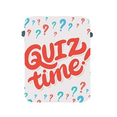 Question Mark Quiz Time Apple Ipad 2/3/4 Protective Soft Cases by Mariart