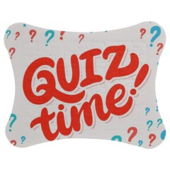 Question Mark Quiz Time Jigsaw Puzzle Photo Stand (bow) by Mariart