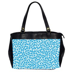 Pattern Blue Office Handbags (2 Sides)  by Mariart