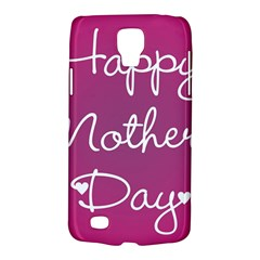 Valentine Happy Mothers Day Pink Heart Love Galaxy S4 Active by Mariart